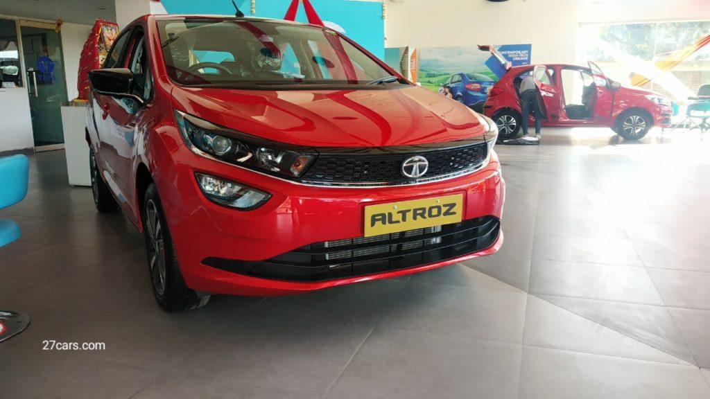 Tata Altroz 5 star safety rating safest Hatchback car