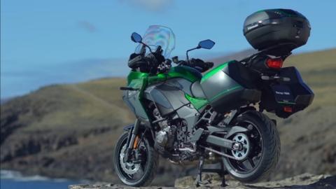 Kawasaki Versys 1000 Bs6 Tourer Bike side profile