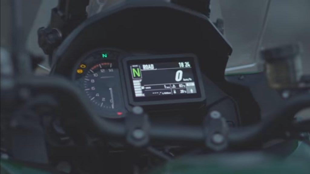 Kawasaki Versys 1000 Bs6 Tourer Bike Driver Information Display