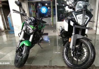 KTM Adventure 390 vs Bajaj Dominar 400 Detailed Compression